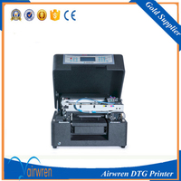 factory wholesale price A4 size flatbed t shirt printer textile printing machine directly printing on t shirt