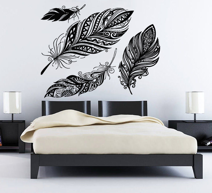 Direct Selling Dream Catcher Wall Decal Feather Vinyl