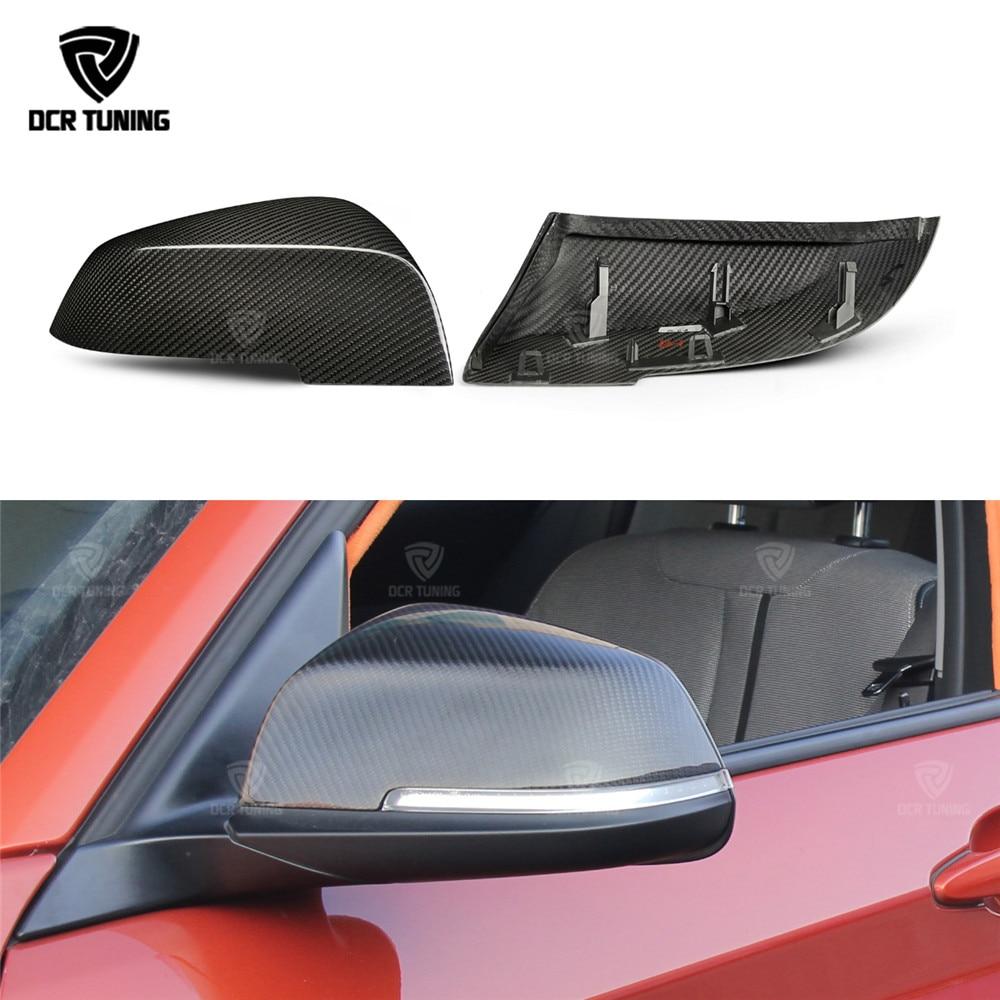 Dry Carbon For BMW 1 2 3 4 X Series Carbon Fiber Rear View Mirror Cover F20 F21 F22 F23 F30 F31 F32 F33 F36 X1 E84 F87 M2 все цены