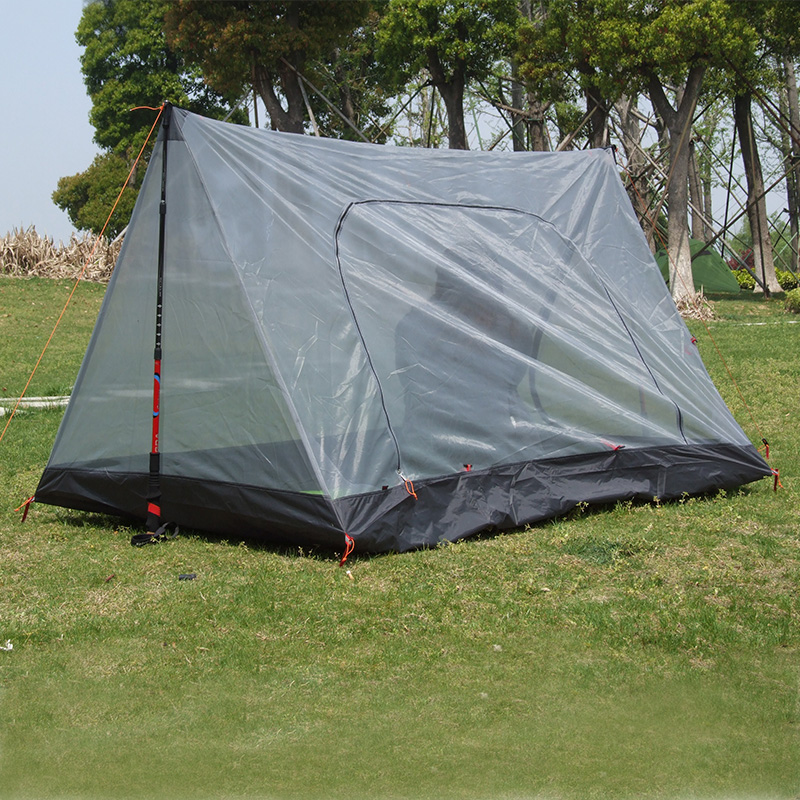 3F Gear outdoor summer tent ultralight 2 person inner mesh c&ing tent/Now stock bottom is dark grey color-in Tents from Sports u0026 Entertainment on ... & 3F Gear outdoor summer tent ultralight 2 person inner mesh camping ...