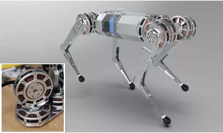 MIT Mini Cheetah Four-legged Robot Dog Quadruped Robot Electric Drive Robot Dog Mini Cheetah Bionic Robot