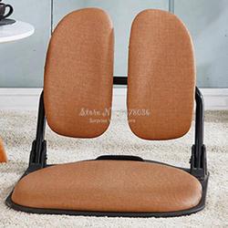 Складной стул татами эргономичный комфорт без ног Zaisu компактный стул для гостиной мебель для отдыха складной стул