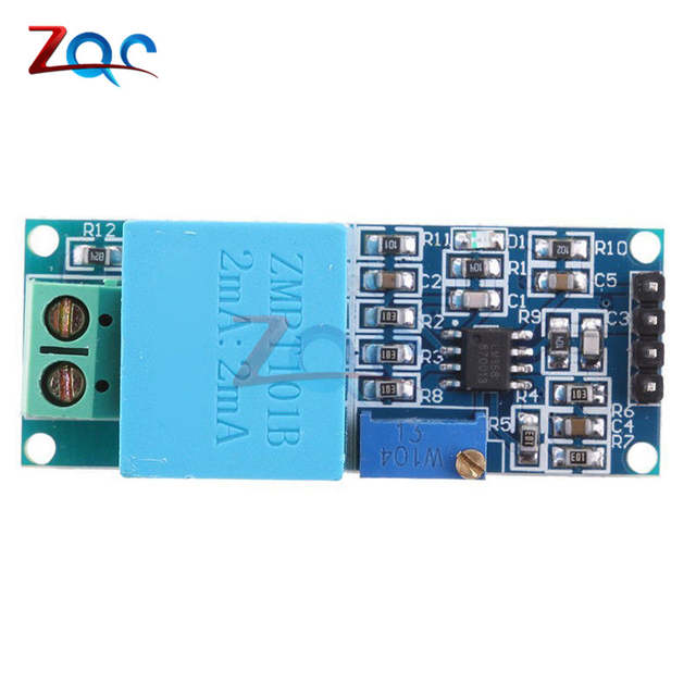 US $1 21 29% OFF Active Single Phase Voltage Transformer Module AC Output  Voltage Sensor for Arduino Mega ZMPT101B 2mA-in Transformers from Home
