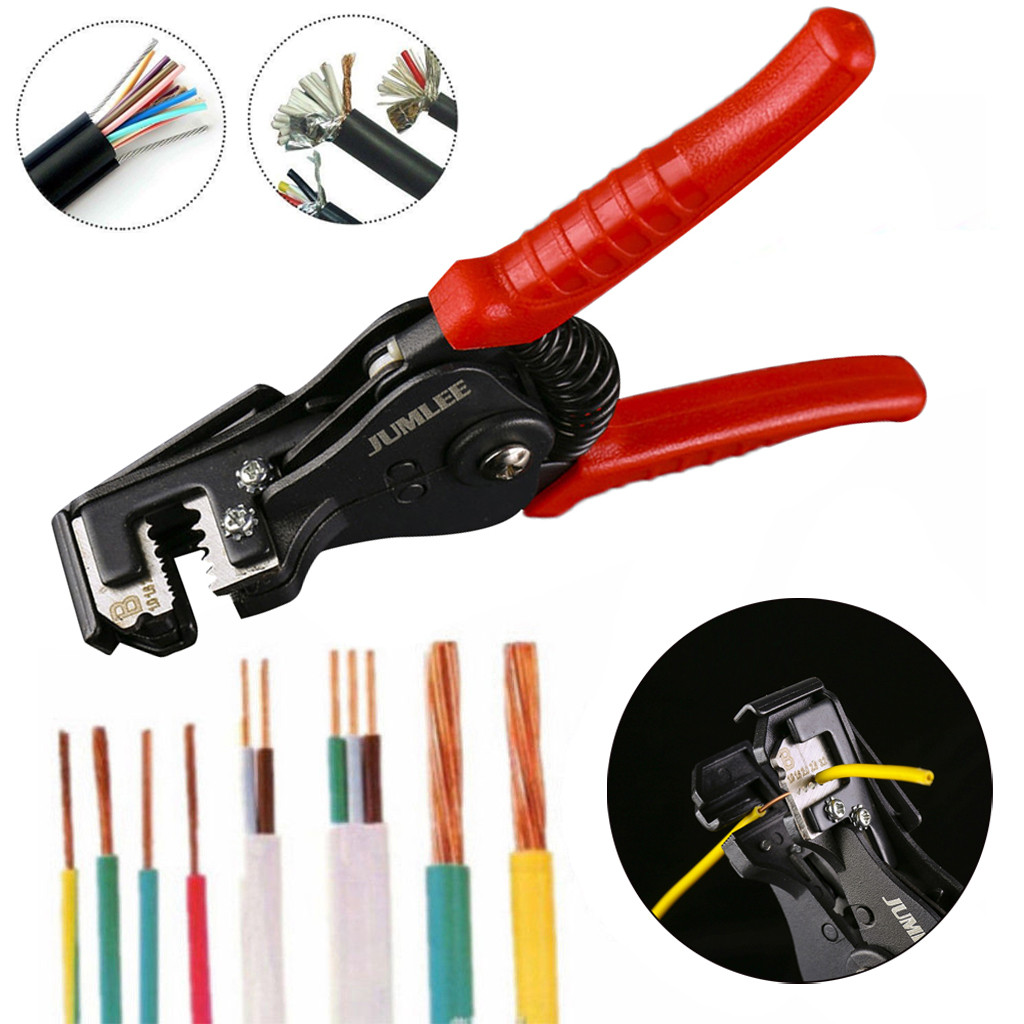 Pro Automatic Cable Wire Striper Cutter Stripper Crimper Pliers Terminal Tool