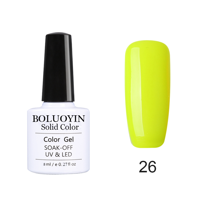 BOLUOYIN Painting Gel Varnishes Nail Gel 5ML Nail Art Glitter UV Lacquer Need Base Top Gel Nail Polish Nail Art For a Manicure in Nail Gel from Beauty Health