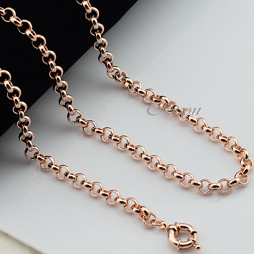 sterling per vermeil plated chains gold chain b rolo over sold foot silver