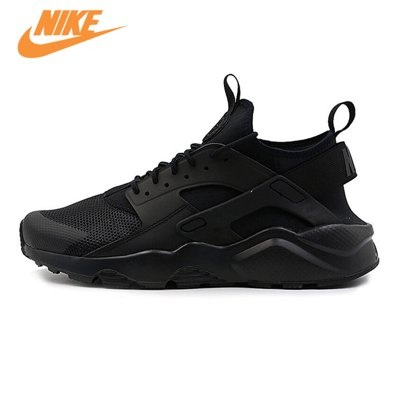 Original NIKE New Arrival AIR HUARACHE RUN ULTRA Men's Breathable Running Shoes Sneakers Trainers nike roshe run men air mesh breathable running shoes original new men outdppr sport sneakers trainers shoes