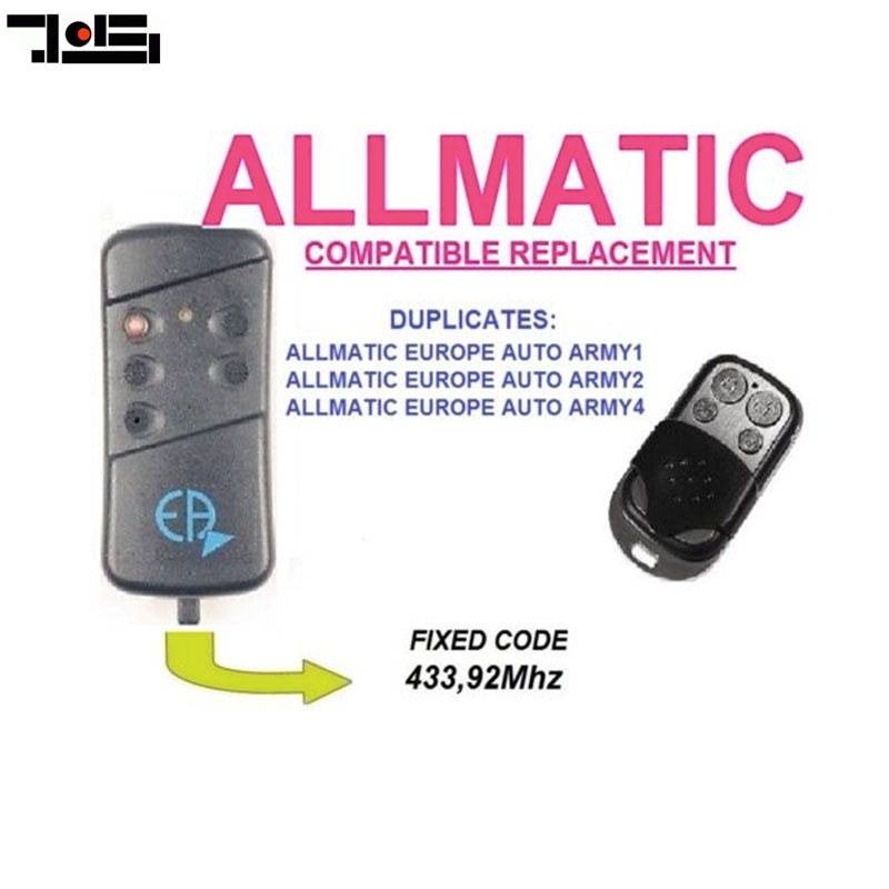 For ALLMATIC EUROPE AUTO ARMY1, ARMY2, ARMY4  Clone Duplicator Remote