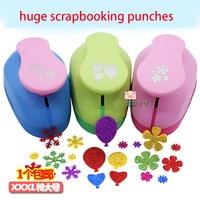 Huge Paper Punches for Scrapbooking Embossing Machine Kindergarten Handmade Snowflake/Flower Scrapbook Tools Card Stationery