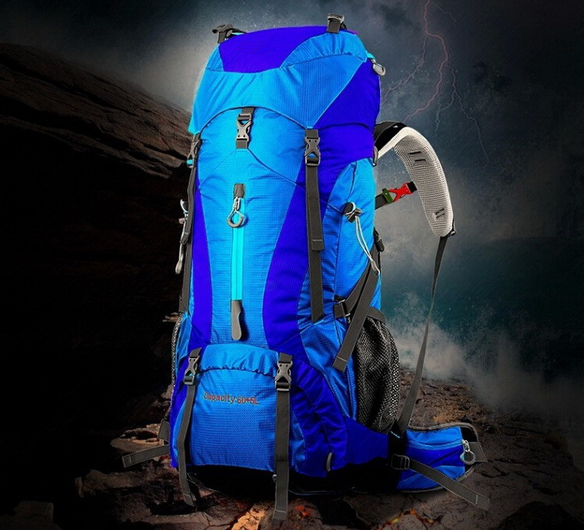 1750g outdoor professional mountaineering backpack 60 + 5L hiking bag camping camping only go mountaineering bags женские часы go girl only go 694923