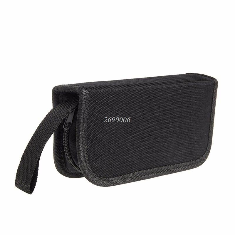 2017 Multi-functional Canvas Watch Repair Portable Tool Bag Zipper Storage MAR15_30