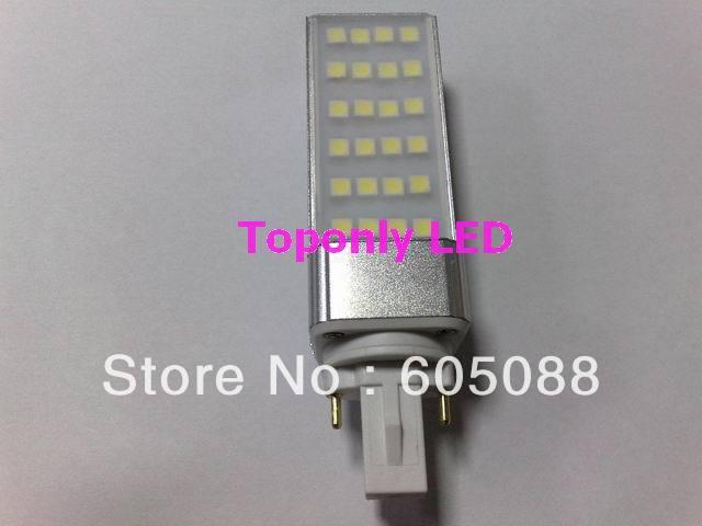 6w G23 Base Rotating Led Pl Lamp Bulb Led Corn Light AC85 300V Color White 550lm