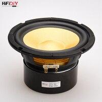 HIFIDIY LIVE HIFI speakers DIY 6 inch 6.5 Midbass Woofer speaker Unit 8 OHM 100W Glass fiber vibratory basin Loudspeaker K6 167S