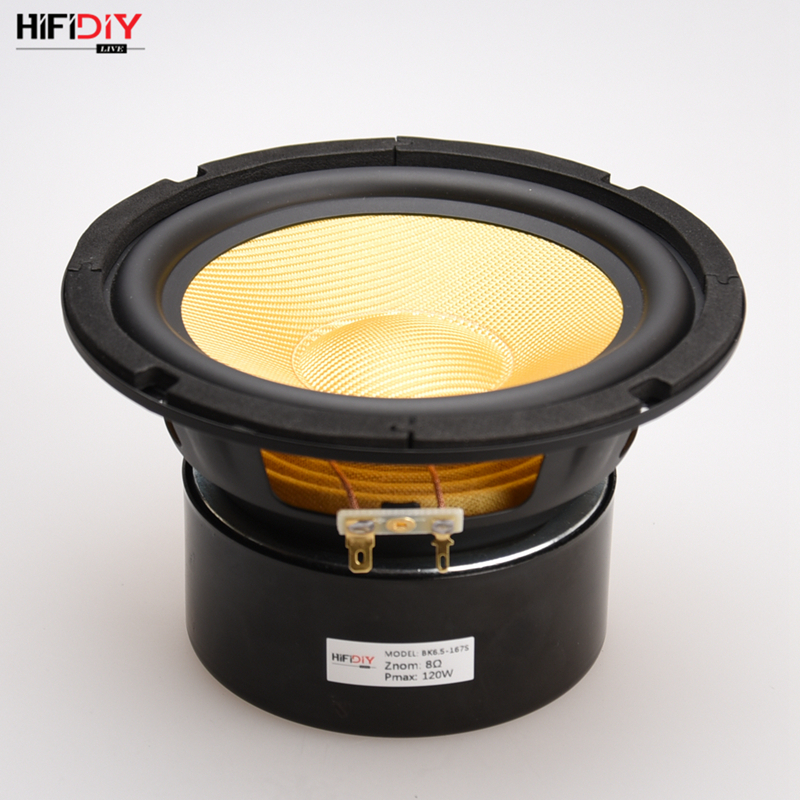 Conscientious Hifidiy Live Hifi Speakers Diy 6 Inch 6.5 Midbass Woofer Speaker Unit 8 Ohm 100w Glass Fiber Vibratory Basin Loudspeaker K6-167s Back To Search Resultsconsumer Electronics