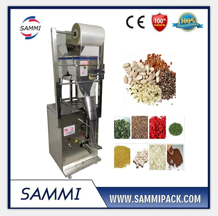 SMFZ-500 Automatic Granule Packing Machine/Back Side Seal/Free Shipping