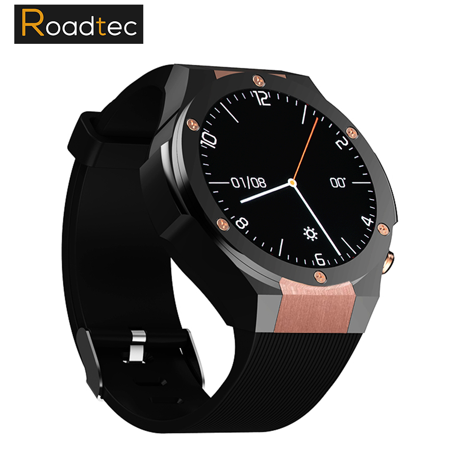 ROADTEC H2 3G WIFI Smartwatch Cell Phone All-in-One Bluetooth Smart Watch Android 5.1 SIM Card GPS Camera Heart Rate Monitor kktick d6 smartwatch phone android 5 1 heart rate monitor smart watch wifi gps bluetooth 4 0 1 63 inch