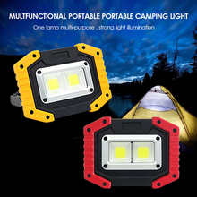 30W COB Led Portable Spotlight Led Work Light Rechargeable 18650 Battery Outdoor Light For Hunting Camping Led Latern Flashlight led portable spotlight rechargeable led work light 18650 battery outdoor flood light for hunting camping led latern flashlight