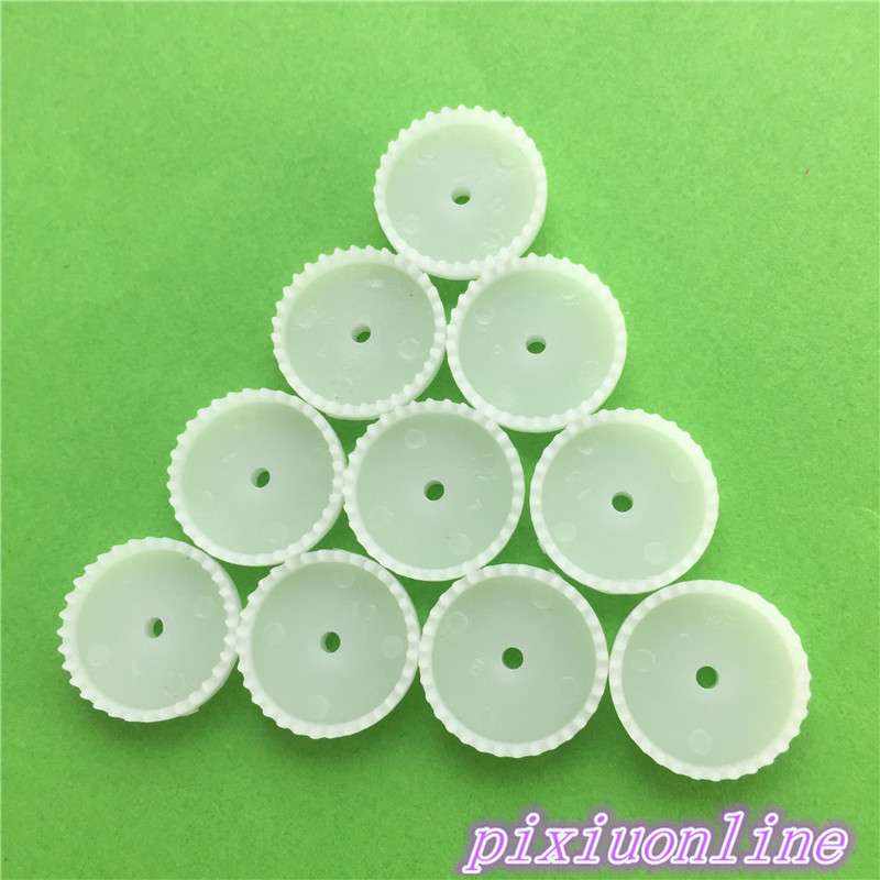 10pcs K073Y C322A Mini Plastic Crown Gear Model DIY Toys Robot Parts High Quality On Sale