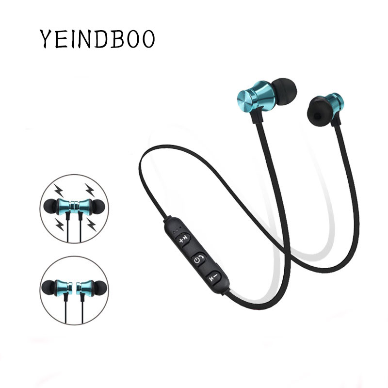 YEINDBOO Wireless Headphone Bluetooth Earphone Sport Headset Fone de ouvido For iPhone Samsung Xiaomi Ecouteur Auriculares все цены