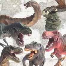 Lamwin Jurassic World Park Red Imperial Tyrannosaurus Rex Dinosaur Action figure Giganotosaurus,Seismosaurus Dinosaur Model Toys