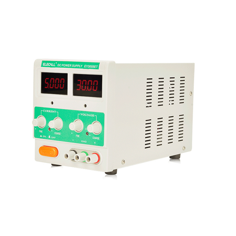 EY3005ET Switching Regulated Adjustable DC Power Supply Single Channel 30V 5A Variable Digital Display SMPS