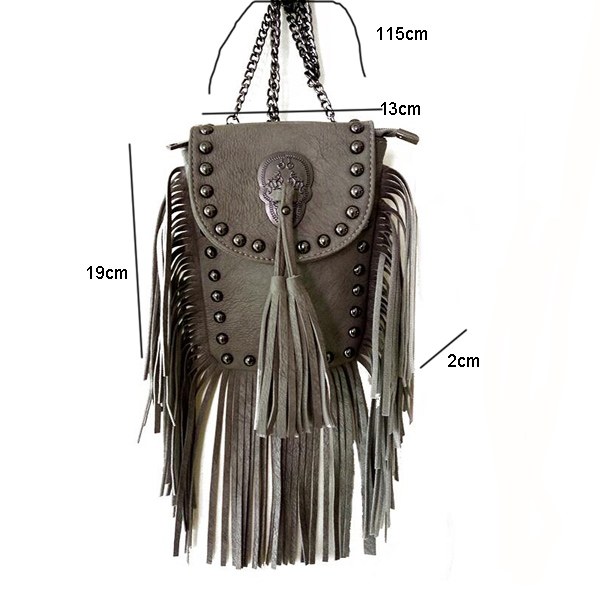 New Vintage Bohemian Fringe Messenger Crossbody Bag Purse Women Tassel Boho Hippie Gypsy Fringed Tote Handbag Womens (35)
