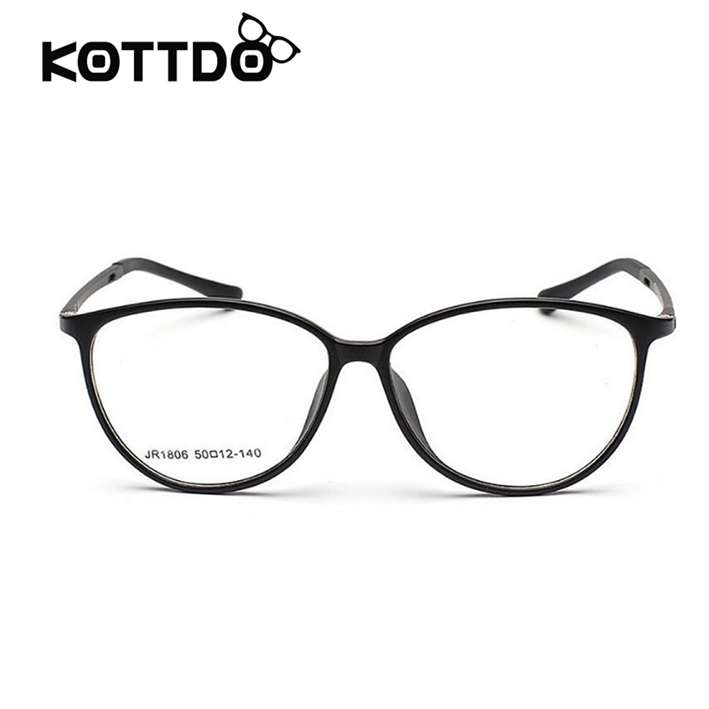 12a0906286f TR90 Eyeglasses Frames Women Classic Ultra Light Frames Optical Eyeglasses  Big Frame With Clear Lens Reading Glasses Frame-in Eyewear Frames from  Apparel ...