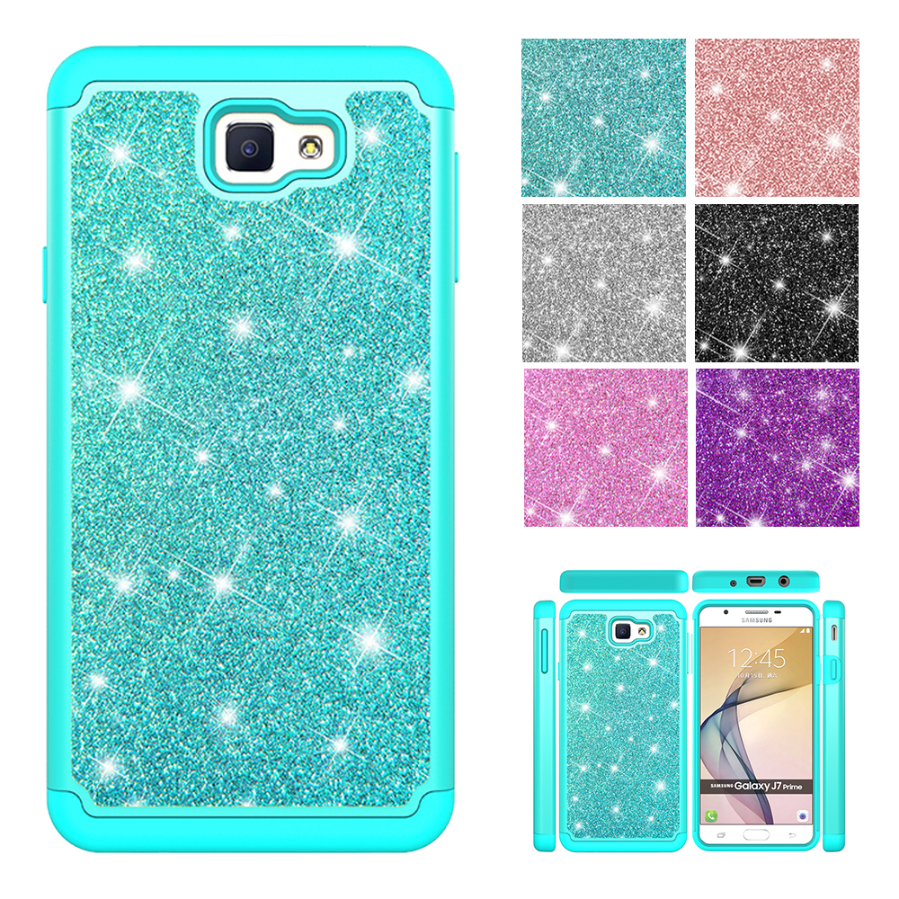 For Samsung Galaxy J7 Prime 2 Glitter Liquid Case J7 Prime2 On7 Prime 2016 Bling Quicksand Full Cover Sm G610 G611f G610f G610m Orders Are Welcome. Phone Bags & Cases