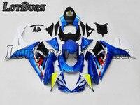 Высокое качество ABS Пластик подходит для Suzuki GSXR600 GSXR750 GSXR 600 750 K11 2011 2015 11 15 Moto индивидуальный заказ мотоцикл обтекатель