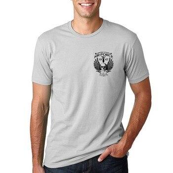 Camiseta de manga corta para hombre, ropa de la Fuerza Aérea USAF...