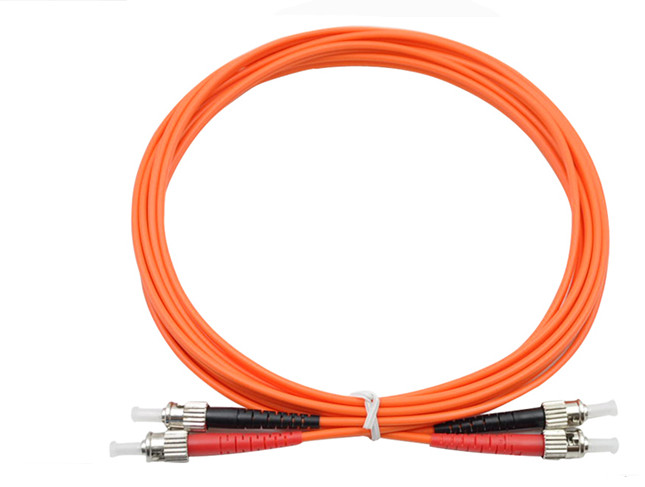 7 Meters ST-ST Fiber Optic Cable MultiMode Duplex Patch Cord OM1 62.5/125 7M