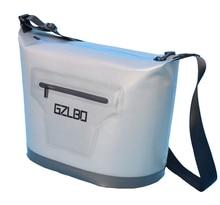 Классический стиль 30 банок большой серый Термосумка мягкой упаковке Открытый мешок льда заморожены в течение 48 часов непрерывной вентилятор для охлаждения сумка