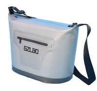 Estilo clásico 30 latas gris bolsa de paquete suave bolsa de hielo al aire libre congelado por 48 horas continuas de refrigeración enfriador bolsa