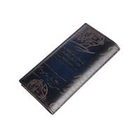 TERSE_2017 Hot sale long wallet mens handmade leather purse quality portfolio for male 6 colors formal wallet cuatom logo 436 1