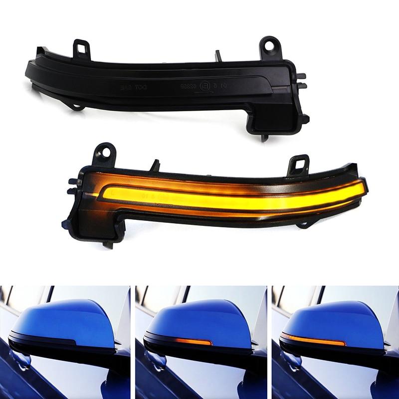 Fumé Côté Miroir Séquentielle Dynamique Clignotant Pour BMW 1 2 3 4 Série X1 F20 F21 F22 F23 F30 F31 F34 F32 E84 i3