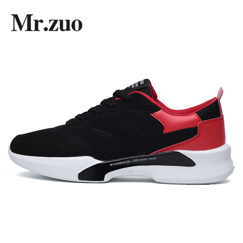 MR.ZUO Men Sneakers 2017 Winter Running shoes Walking Shoes professional Trainers big sizes Sport shoes Men Jogging Shoes 2017brand sport mesh men running shoes athletic sneakers air breath increased within zapatillas deportivas trainers couple shoes