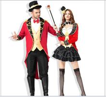 Ladies Ringmaster Costume Adult Sexy Naughty Circus Ringleader Halloween Costumes for Women Fancy Dress(China  sc 1 st  AliExpress.com & Buy ringmaster costume and get free shipping on AliExpress.com