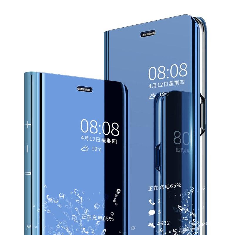 Luxo para samsung j5 2016 caso espelho capa de proteção para galaxy j7 2016 caso flip suporte telefone capa j510 j710 j5 j7 prime