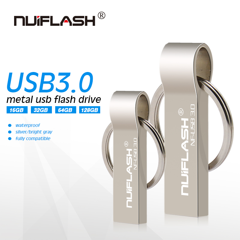 Ultra Mini Usb 3.0 Flash Drive Pendrive 16gb 32gb Memory Stick 64gb 128gb Pen Waterproof Flash Drive With Keychain Free Shipping External Storage