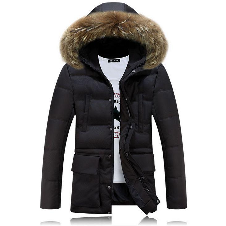 HCBLESS Hombres invierno Nagymaros cuello abajo algodón abrigo Moda - Ropa de hombre - foto 3