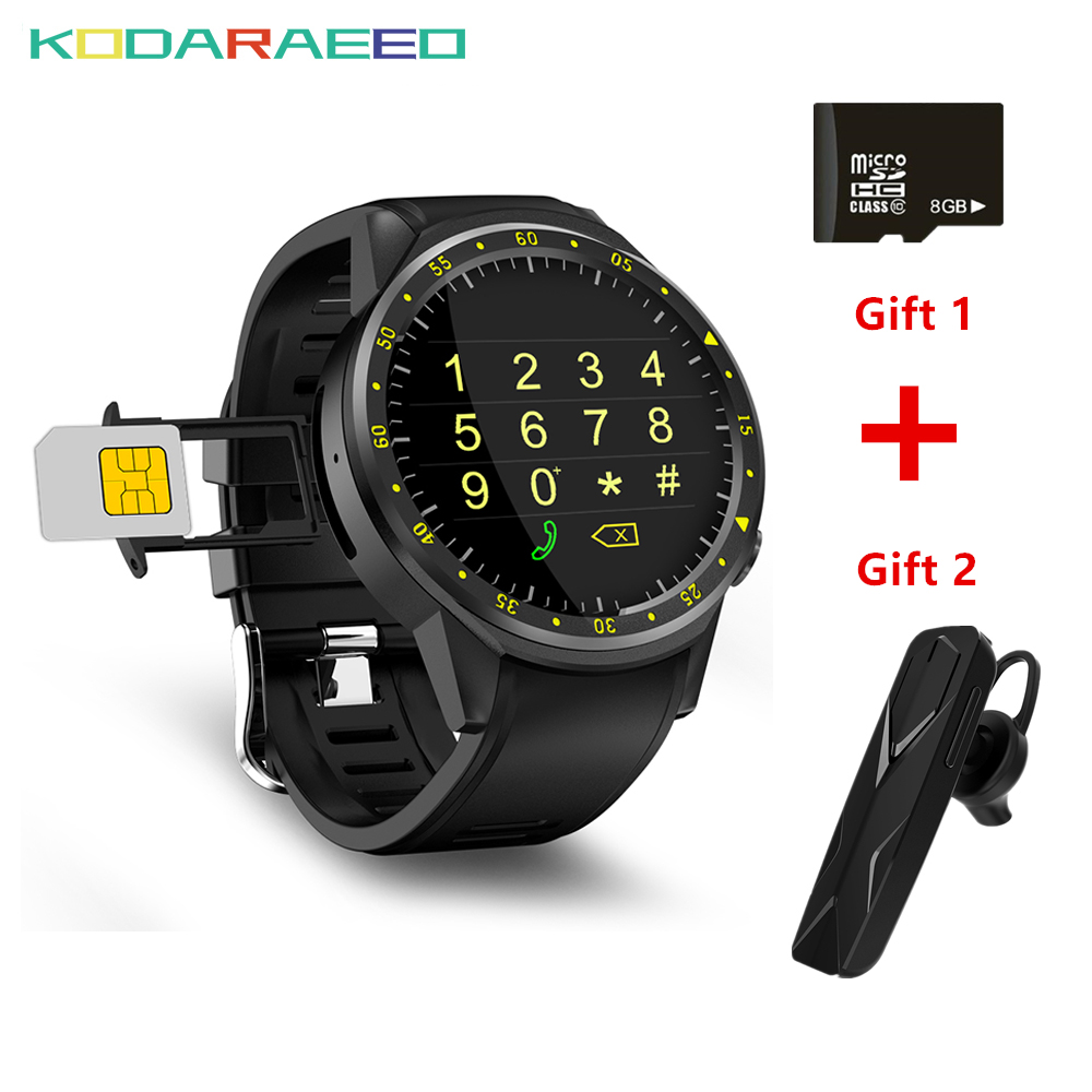 F1 smart watch GPS SIM TF with Multi-sport watch phone Dials Mode Heart Rate tracker Sleep Monitor smartwatch for IOS Android gps outdoor smart watch v18 supports tf card multi mode sports monitor bluetooth wristwatch clock smart phone for ios android
