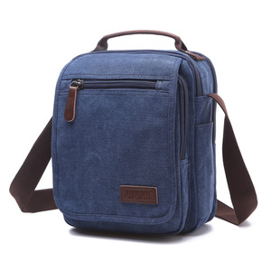Image 4 - Z.L.D. Новая вертикальная холщовая школьная сумка, мессенджер высокого качества, военная сумка на плечо, вместительная маленькая квадратная сумочка