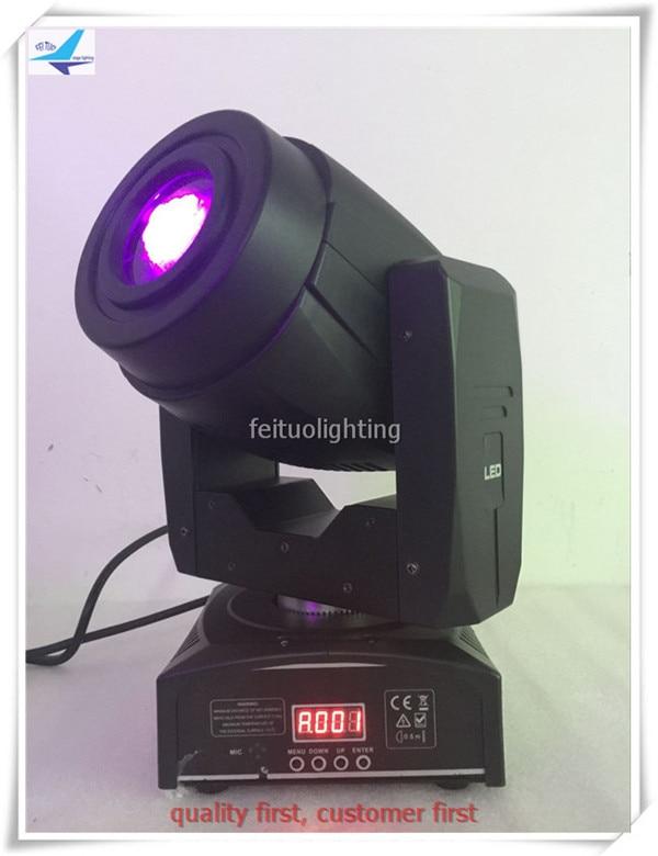 free Shipping 6pcs/lot LED Spot Mini Beam 60W Moving Head Light Stage 3 Prism Lyre Gobo DMX 60w Rainbow DJ Disco Party Lighting