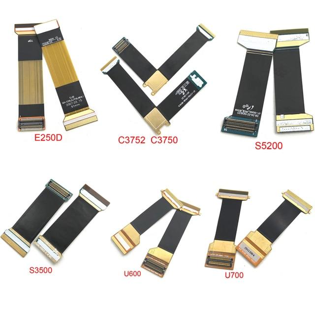 Main Flex Cable For Samsung B5702 C3752 C3750 D880 E250D F299 S569 S3500 S5200 U600 U700 Connect Mainboard To LCD Screen Ribbon