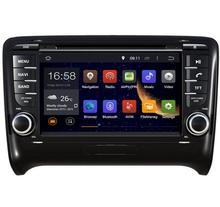 ROM 16G 1024*600 Quad Core Android 5.1.1 Fit AUDI TT 2006 2007 2008 2009 2010 2011 Car DVD Player Navigation GPS TV 3G Radio