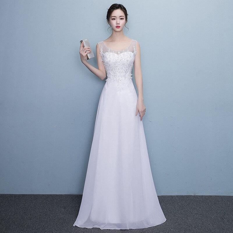 Здесь можно купить  2018 Married New Ball Gown Solid Boat Neck Formal Dress  Детские товары