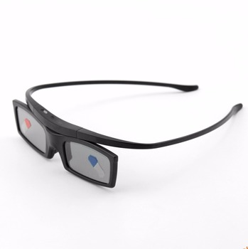 2pcs New Bluetooth 3D Shutter Active Glasses for Samsung SSG-5100GB 3DTVs Universal TV cardboard Free Shipping 1