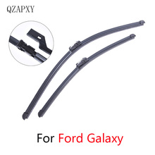 Front and Rear Wipers Blade For Ford Galaxy from 2001 2002 2003 2004 2005 to 2018 Windscreen wiper Wholesale Car Accessories cheap QZAPXY car wiper ISO9001 366g Natural rubber Clean Car windshield 2017Year 2013 2006 2007 2009 2010 2011 2008 2012 Two Pieces