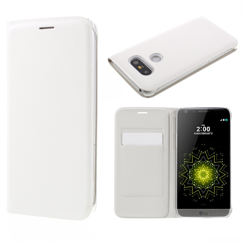 LG5 / G5SE غطاء واقي بي يو جلدي لاجهزة 11