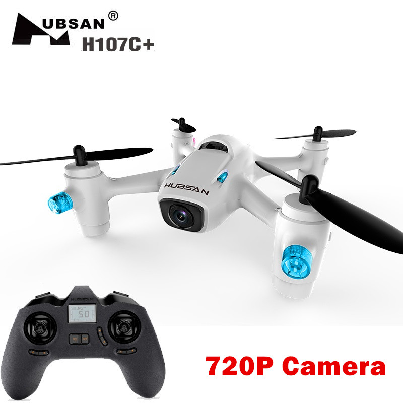 Hubsan X4 CAM Plus H107C+ 6-axis Gyro RC Quadcopter with 720P Camera RTF 2.4GHz get an extra battery original hubsan fpv x4 plus h107d with 720p hd camera 6 axis gyro rc quadcopter rtf in stock
